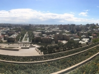 2016 10 15 Jerevan Kaskaden Blick auf Jerevan