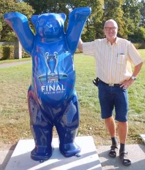 2016 09 24 Berlin Olympiastadion Berlin Marathon mit Otto Baumgartner