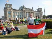 2016 09 25 Vor dem Reichstag mit der Finisher Medaille