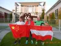 2016 09 25 Vor dem Start beim Bundeskanzleramt mit den Chinesen