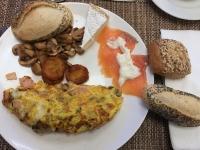 Erstes Frühstück im Jahre 2017