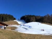 Rittner Horn Schigebiet auf der Schwarzseespitze
