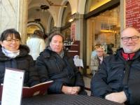 Aufwärmen im Stadtcafe