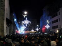 Laute Silvesterparty am Dominikanerplatz