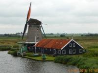 2016 08 12 Zaanse Schans Windmühlen in Betrieb