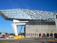 2016 08 15 Antwerpen Neues Hafengebäude Architektin Hadi