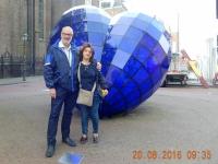2016 08 20 Delft Blaues Herz mit Kreuzfahrtdir Codruta