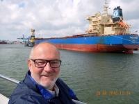2016 08 20 Rotterdam Hafenrundfahrt mit riesigen Schiffen