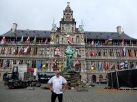 2016 08 22 Antwerpen Grosser Markt mit Stadthaus