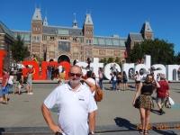 2016 08 24 I am Amsterdam mit hunderten Touristen