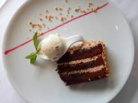 Dessert Caramel Kranz Kuchen
