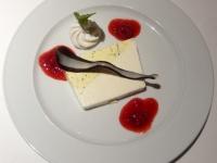 Dessert Vanille Mohn Terrine