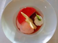 Dessert Variation von Erdbeeren