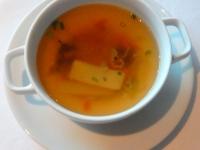 Suppe Japanische Gemüse Consomme