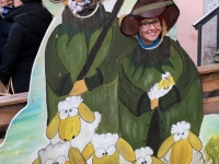 2016 12 11 Haller Adventsmarkt mit Schafecke