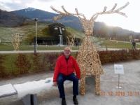 2016 12 11 Swarovski Kristallwelten Eingang mit Hirsch