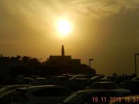 2016 11 19 Sonnenuntergang Richtung Jaffa