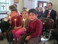 2016 11 20 Bethlehem Friedenslichtmesse mit einheimischen Christen