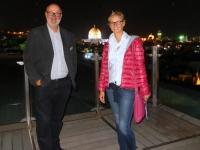 2016 11 20 Jerusalem Dach des Österr Hospitz mit Felsendom