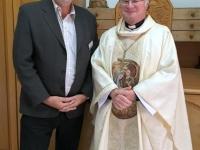 2016 11 20 Scheuer Dr Manfred Diözesanbischof in Bethlehem vor der Friedenslichtrmesse