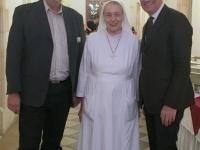 2016 11 20 Weiss Mag Martin Österr Botschafter in Jerusalem beim Empfang im Hospizz