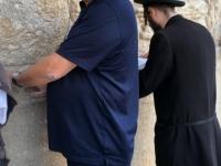 2016 11 21 Jerusalem Klagemauer beim Beten