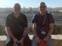 2016 11 21 Jerusalem Reiseleiter Raanan vor dem Tempelberg