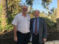 2016 11 21 Superintendent Dr Gerold Lehner vorm Hotel in Jerusalem