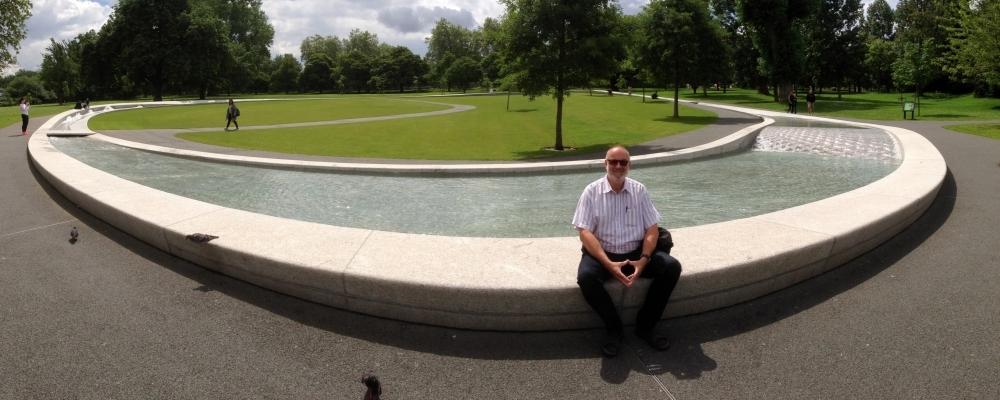 2016 06 15 London - Prinzessin Diana Gedächtnisbrunnen im Hyde Park