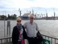 2016 06 10 Queen Mary 2 im Trockendock im Hamburger Hafen