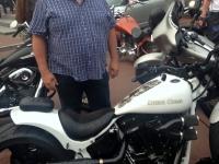 Harley Davidson Treffen auf der Reeperbahn