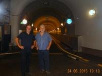 Im alten Elbe-Tunnel