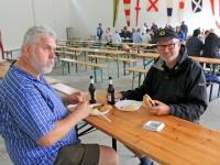 2016 06 25 Jause beim Munitionsdepot der Bundeswehr