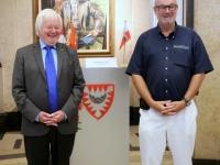 2016 06 28 Empfang Kieler Rathaus Tovar Hans-Werner Stadtpräsident Kiel