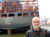 2016 06 30 Hafenrundfahrt mit einem der größten Containerschiffe der Welt