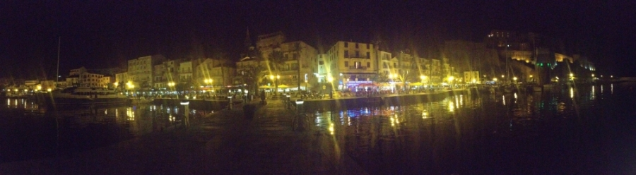 2016 05 26 Calvi Nächtlicher Hafen