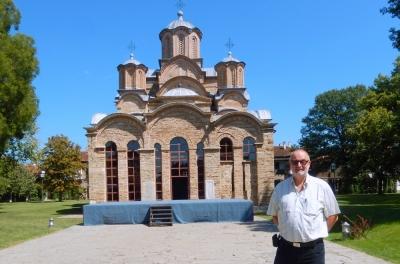 Serbien Mittelalterliche Denkmäler im Kosovo Kloster Gracanica