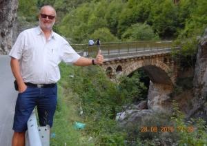 2016 08 28 Brücke in der Rugovaschlucht