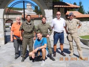 2016 08 28 Kloster Decani Visoki Unesco Weltkulturerbe bewacht von unseren KFOR Soldaten