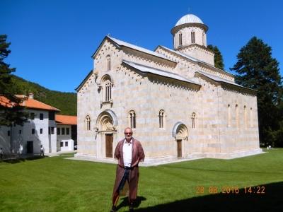 Serbien Mittelalterliche Denkmäler im Kosovo Kloster Decani