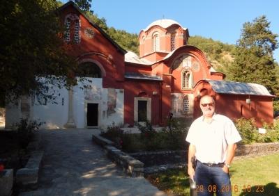 Serbien Mittelalterliche Denkmäler im Kosovo Patriarchenkloster Pec
