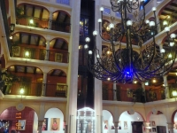 Lobby des Hotels Castello