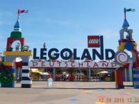 Ankunft im Legoland