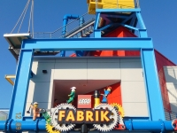 Eingang zur Legofabrik