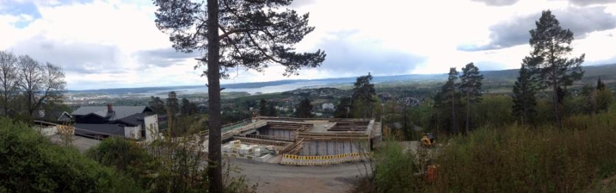 2016 05 14 Blick auf Oslo vom Holmenkollen aus