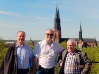 2016 05 08 Uppsala Rudi Gerald Herbert_Arbeitskollegen unter sich