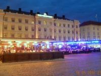 2016 05 10 Linköping Stadtplatz am Abend