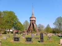 2016 05 11 Angelstad Der Glockenturm steht alleine