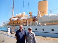 2016 05 12 Kopenhagen Königliche Yacht mit Reiseleiter Hannes