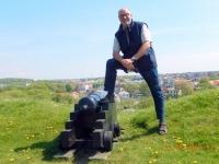 2016 05 13 Blick auf Varberg von der Festung aus